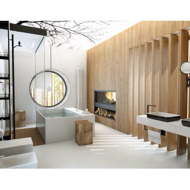 2921 best ideas about bath design on pinterest - Separation salle de bain ...