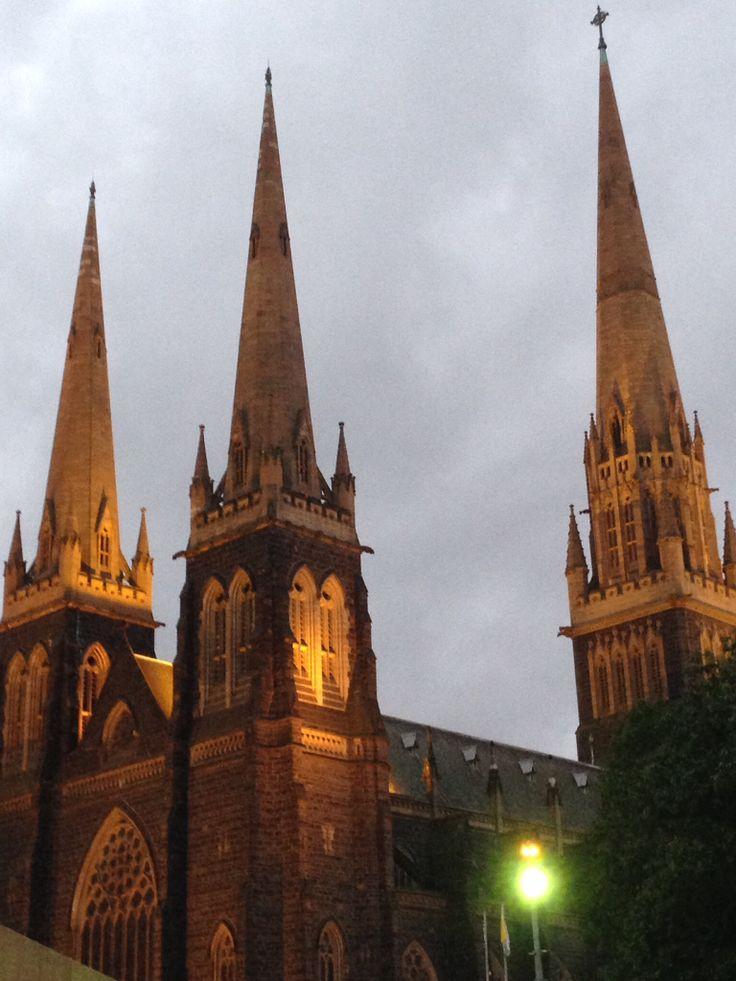 Saint Patricks Cathedral. East Melbourne.