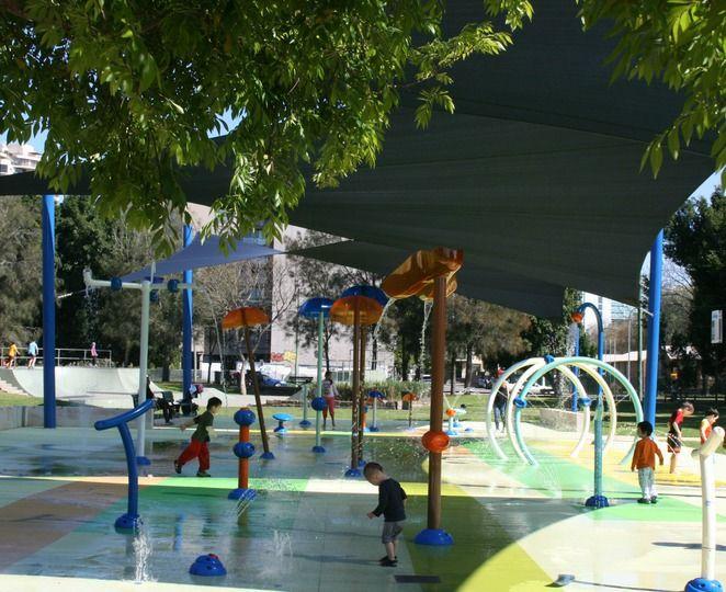 James Ruse Reserve Water Playground Parramatta