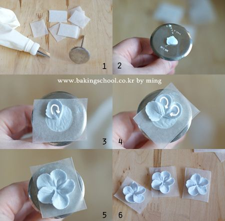 Make Cake Decorations With Icing : Best 25+ Frosting flowers ideas only on Pinterest Icing ...
