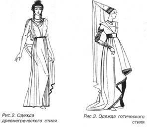 Средневековый готический костюм выкройки