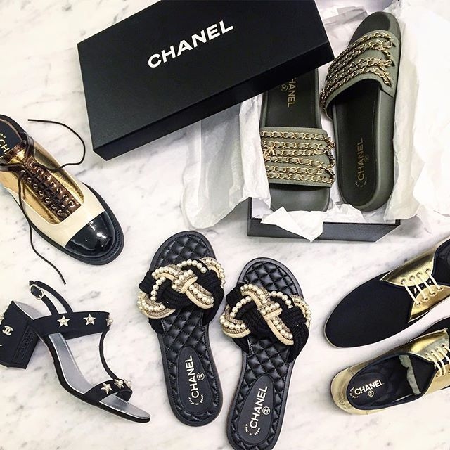 Happening now on 2: Join us for a private iPad preview of the @chanelofficial Cruise Cuba Collection to reserve the newest shoe styles. Today through Saturday, October 22. #Chanel #Shoes #BergdorfGoodman