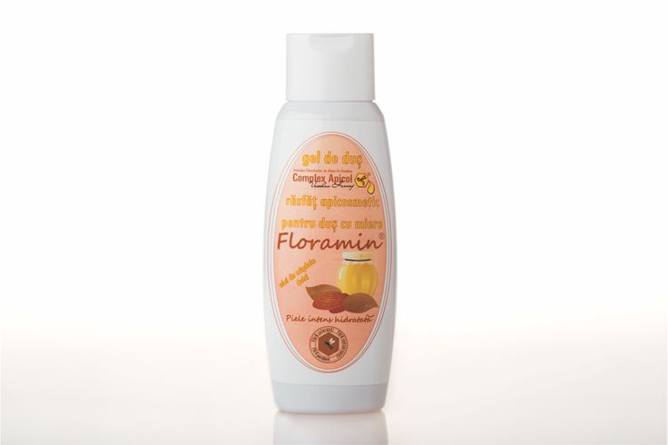Shower gel acacia, sweet almond oil  Floramin gel de dus