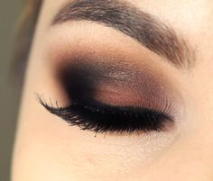 Tutorial – Maquiagem marrom e preta da Bruna Marquezine