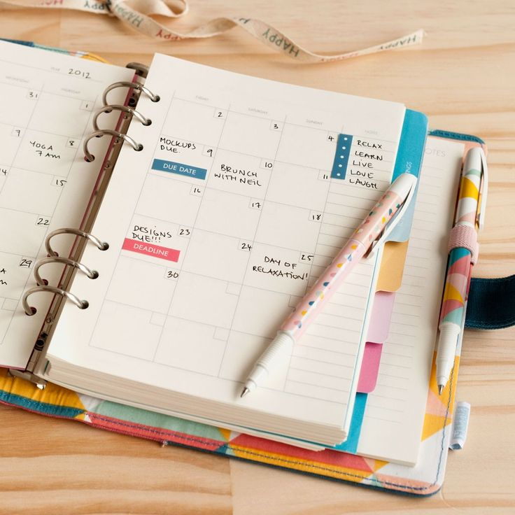 kikki k personal planner refill happy planner love pinterest happy arrow keys and design