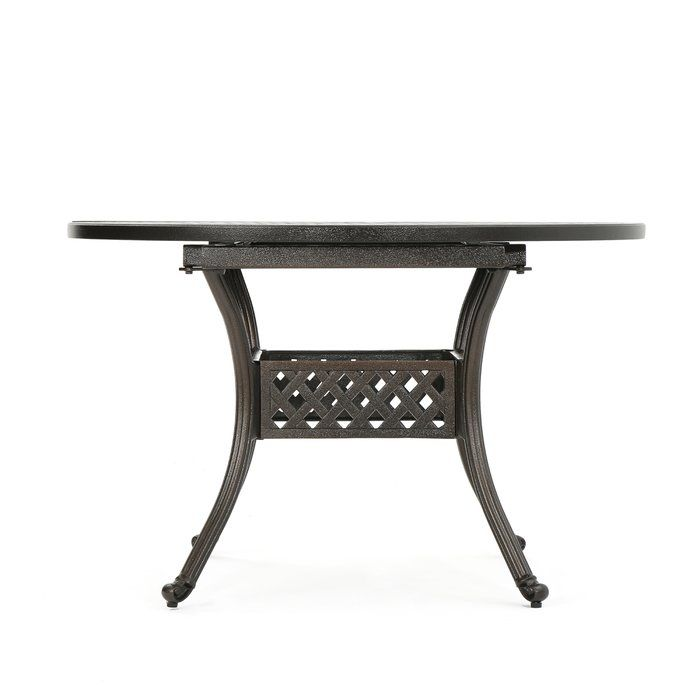 Brownell Extendable Metal Dining Table Reviews Joss Main Wicker Dining Tables Dining Table Metal Dining Table