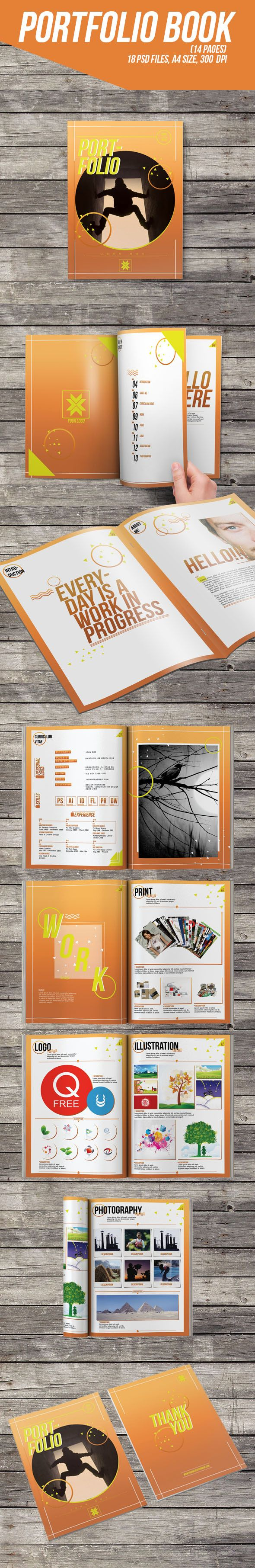 Portfolio Book (14 pages) on Behance