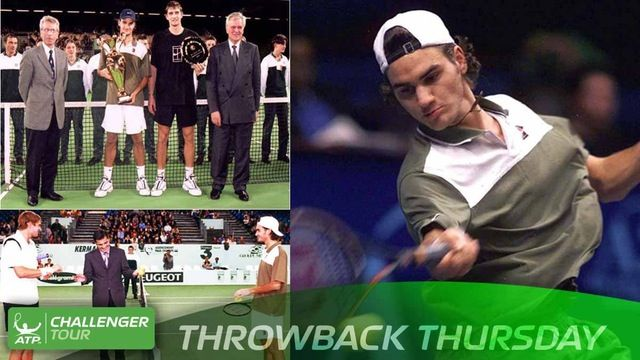 #TBT to this week in 1999, when an 18-year-old Roger Federer won his lone ATP Challenger Tour title in Brest, France, defeating Max Mirnyi.