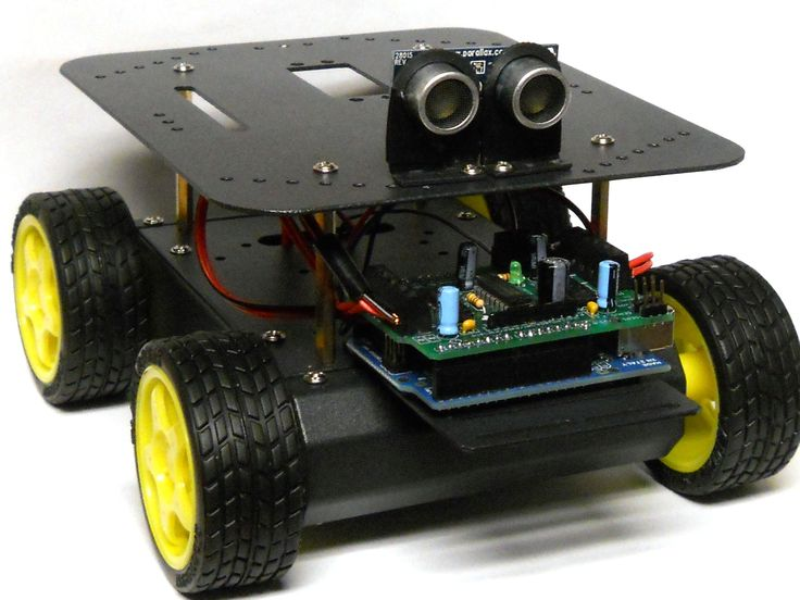 Build your own Arduino-Controlled Robot! — DIY How-to from Make: Projects - This robot will be similar to the final project. Various modules may be changed out as the students determine what options they wish to use.