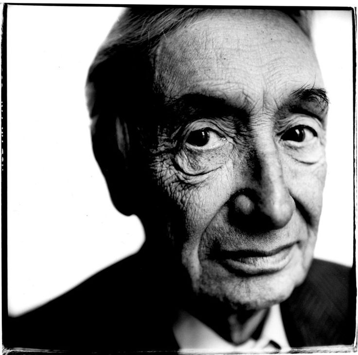 Sir Aj Ayer, London, 1988, Steve Pyke - 50 Famous Portrait Photographers You Need to See