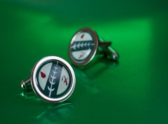 Star Wars Boba Fett Cufflinks by UnofficiallyOriginal on Etsy