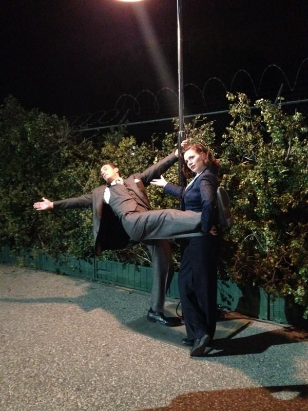 Jan 17 2015: @WendyWillming (TV Manager)  These two make late nights on set extremely entertaining