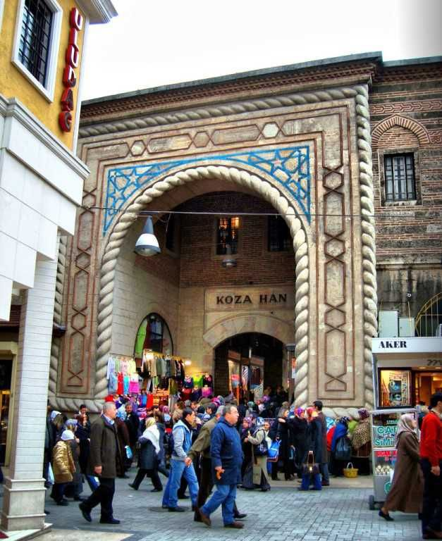 Bursa Silk Market - Koza Han - Tour Maker Turkey