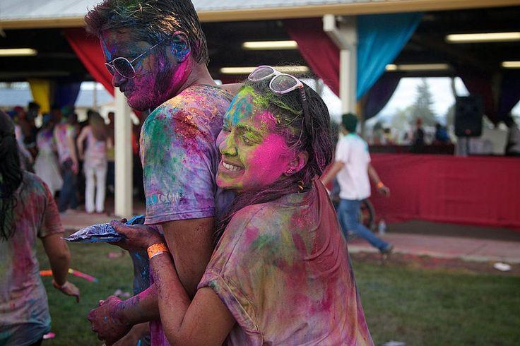 The Rang Barse Holi Festival of Colors at the Washington County Fairgrounds.