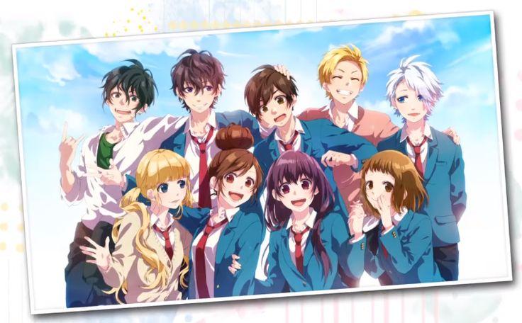 # 恋色に咲け/HoneyWorks # Manga # Anime