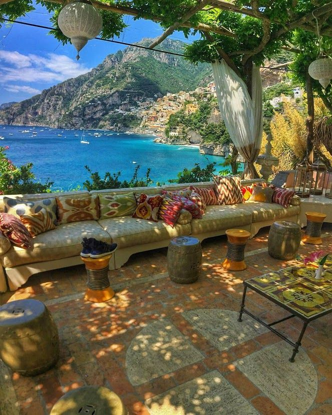 Гостиница Villa Treville в Позитано, Италия