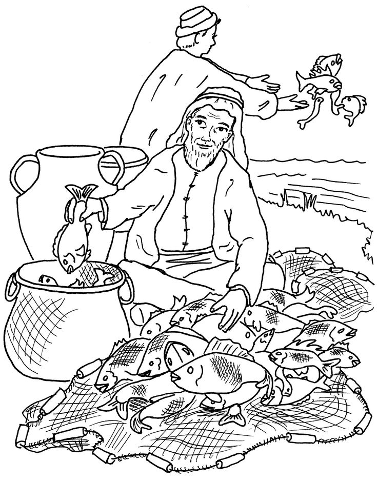net coloring pages for kids - photo#27