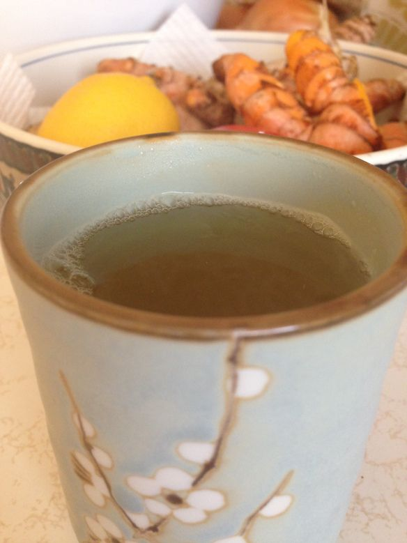 Turmeric and Ginger Tea Recipe