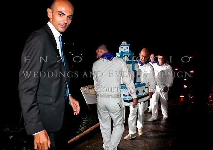 Wedding in Ischia #wedding #ischia #weddingplanner #weddingdress #enzomiccio #weddingcake #magicatmosphere #sea #seamen
