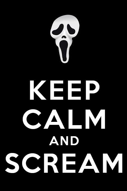 I love watching horror movies with my friends. It is fun to scare each other!