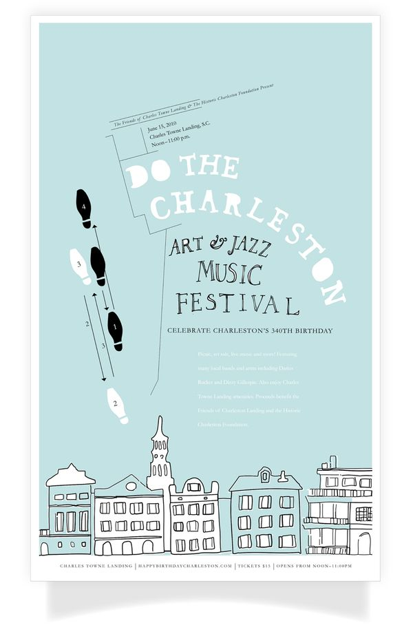 Do The Charleston, Art  Jazz Music Festival by Kailie Parrish