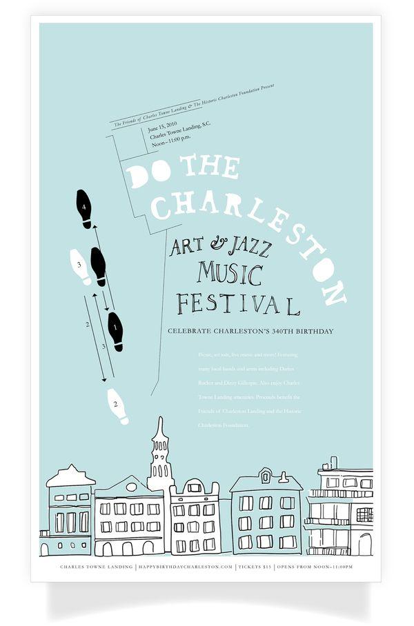 Do The Charleston, Art & Jazz Music Festival by Kailie Parrish