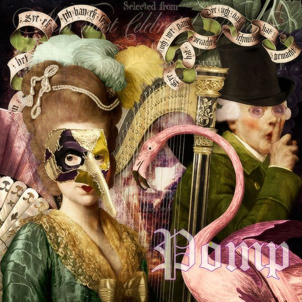 Pomp #1 ~ Beth Todd-All Rights Reserved Created with Songbirdy Designs 'Pomp' MischiefCircus.com. Digital image kits for your art, collage, mixed media art and scrapbooking. #photomanipulation #digital #art #scrapbook #collage #artjournaling #atc