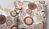 Wild Flower Red Cushion from
