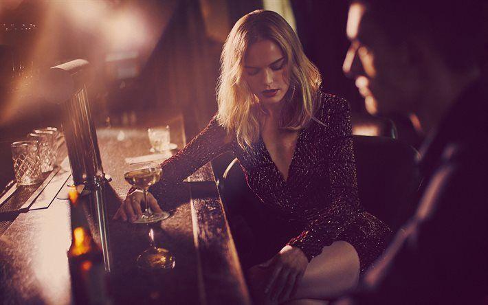Lataa kuva Kate Bosworth, Amerikkalainen näyttelijä, blondi, kaunis nainen, baari