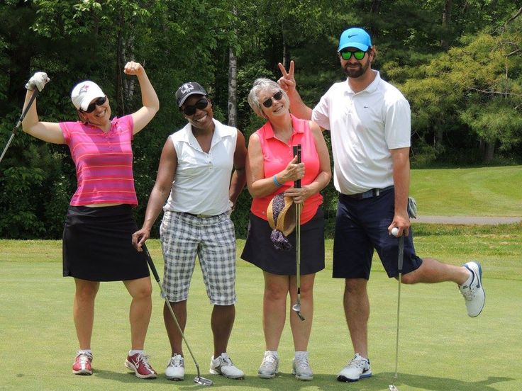 Team Karen Paul -- Golfing at the KW annual Golf Tournament