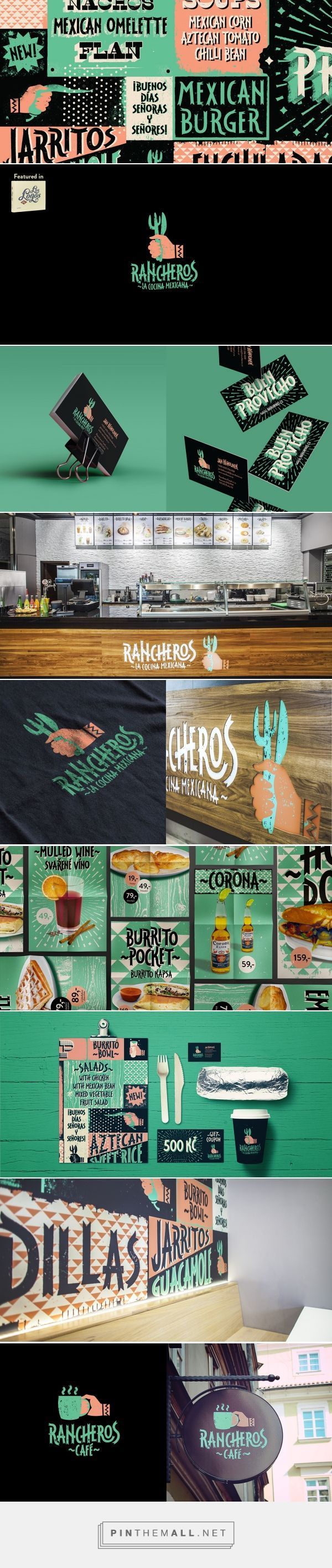 Rancheros Mexican Fast Food Restaurant Branding by Honza Moucha | Fivestar Branding Agency – Design and Branding Agency & Curated Inspiration Gallery