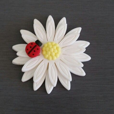 Daisy Flower Cupcake Toppers