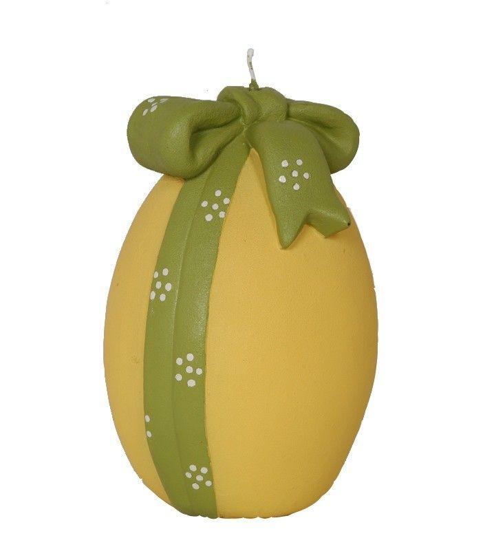 Egg Ribbon Novelty Candle