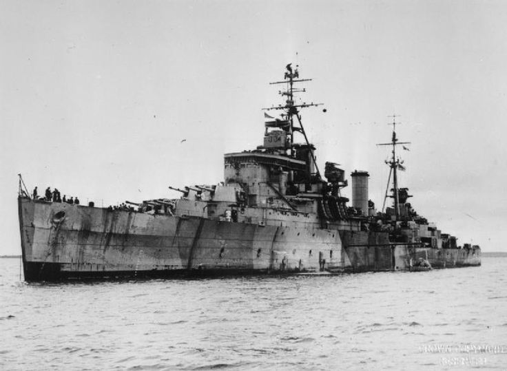 HMS Swiftsure (1943) was a Minotaur-class light cruiser of the British Royal Navy. In November 1944, she became a unit of the newly formed British Pacific Fleet. In the Pacific she participated in the Okinawa Campaign of March–May 1945 and in June took part in the carrier raid on Truk by the British Pacific Fleet as part of Task Group 111.2, with the cruisers shelling the islands.