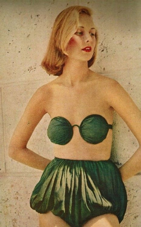 Claire McCardell swimsuit, 1949