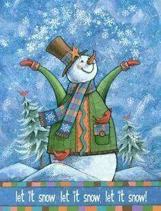 Lad det sne!