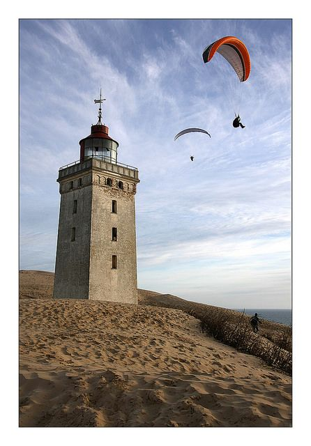 Rubjerg Knude Fyr - 11 by Frollein Eichblatt, via Flickr