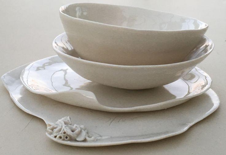 Porcelain pieces...