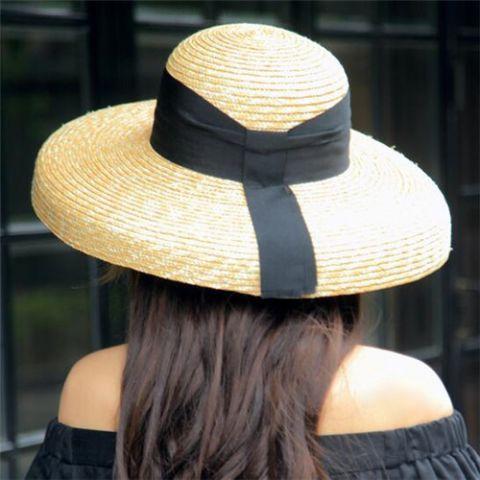 Summer Big Floppy Sun Hat For Lady Fashion Straw Beach Hats Holiday Wear