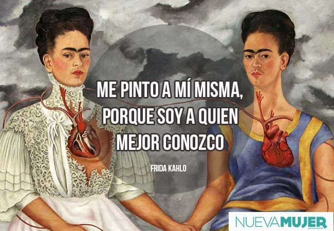 Frases de amor: imágenes de frases de Frida Kahlo
