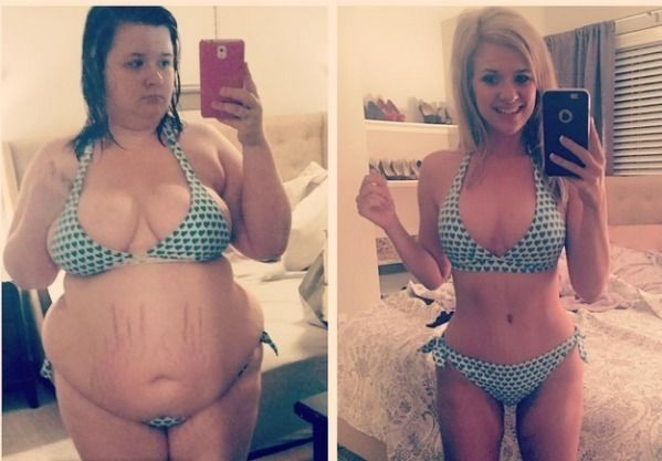 Before And After Weight-Loss Photos Of People Who Can Say 'I Did It!' - http://www.lifebuzz.com/weightloss/