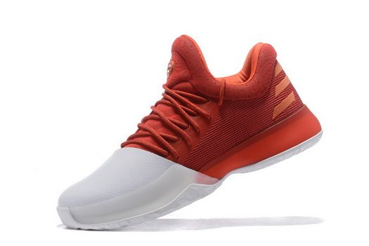huge discount 75e66 b65ac Adidas Harden Vol.1 Home Farbe Scarlet Footwear White Energy Bw0547