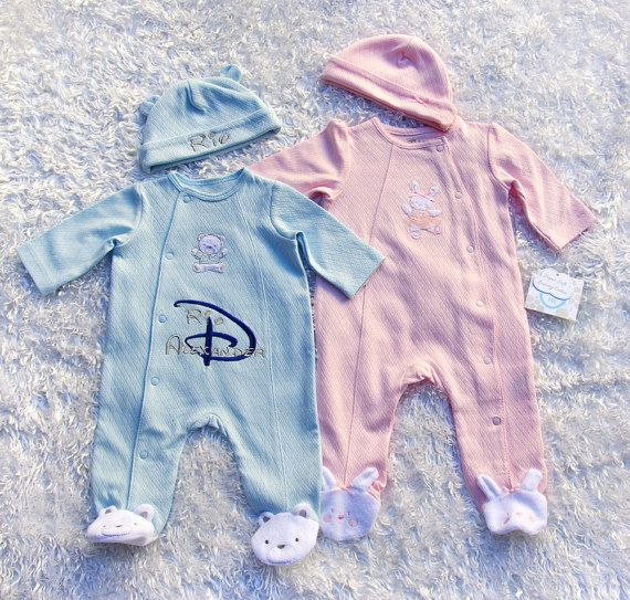 47 best beautiful baby gifts images on pinterest baby gifts personalized babys coming home outfit disney by magicembroidery negle Images