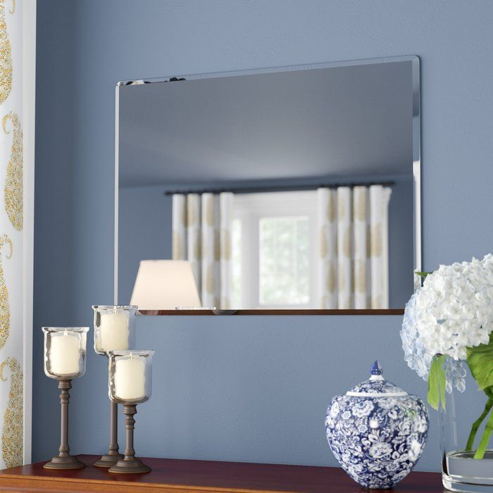 Rectangle Metal Frameless Wall Mirror Mirror Wall Living Room Mirror Wall Bedroom Mirror Wall #rectangle #mirror #for #living #room
