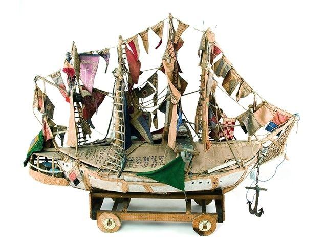 Grande veleiro - Arthur Bispo do Rosário