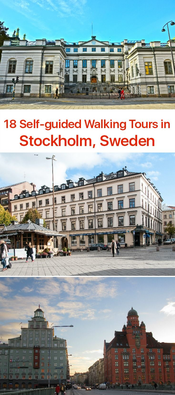 A former Viking settlement, built in a place where a tree log set down the stream hit the bank, today's Stockholm is one of the most comfortable cities in the world to live in. A true manifestation of Scandinavian urban culture and lifestyle