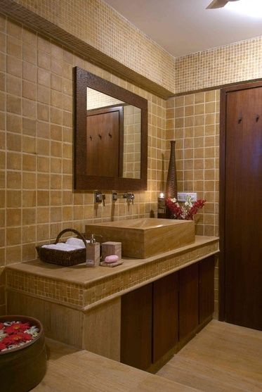 bathroom with tiles design by arbaysis ashley architect in mumbai maharashtra