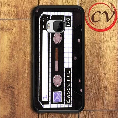 Retro HTC One M9 Plus Black Case