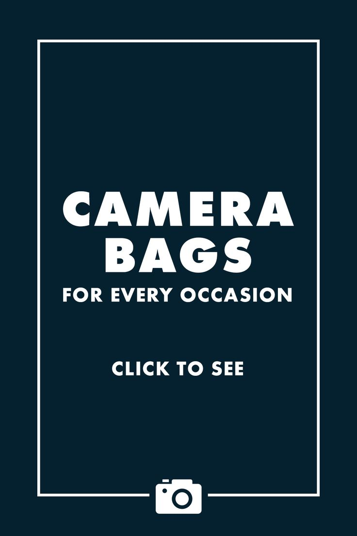 Stylish Camera bags for every occasion! – click to see! /