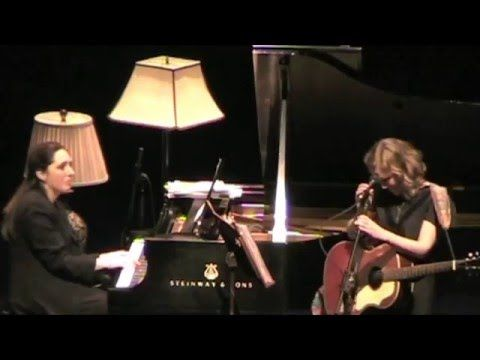 "Tift Merritt & Simone Dinnerstein ""I Can See Clearly"" Jan. 21, 2011 Durh..."